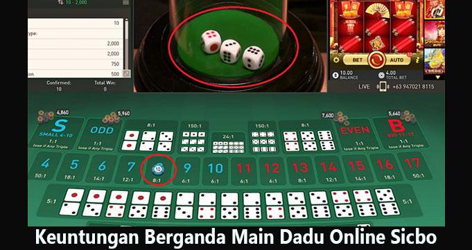 Keuntungan Berganda Main Dadu Online Sicbo